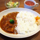 カレーライス(サラダ・スープ付)