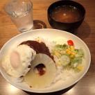 ロコモコ丼(サラダ添え・スープ付)