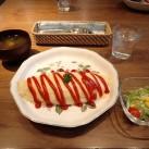 オムライス(サラダ・スープ付)
